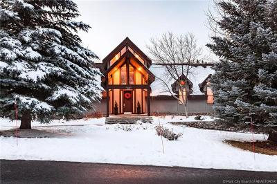 Park City Single Family Home For Sale: 3850 W Lariat Road