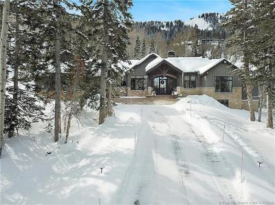 Park City Single Family Home For Sale: 103 White Pine Canyon Road