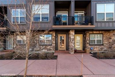 Park City UT Condo/Townhouse For Sale: $633,000