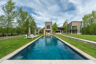 Park City UT Single Family Home For Sale: $5,794,000