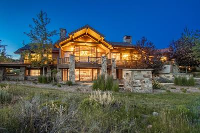 Park City Single Family Home For Sale: 2832 Blue Sage Trail