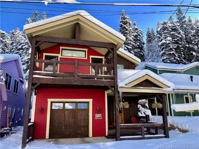 Park City Single Family Home For Sale: 191 Daly Avenue