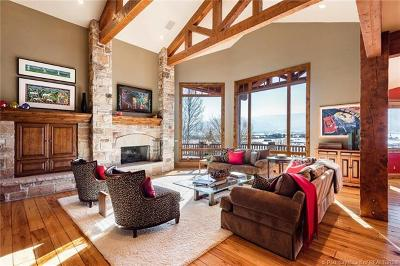 Park City Single Family Home For Sale: 5740 Mountain Ranch Drive