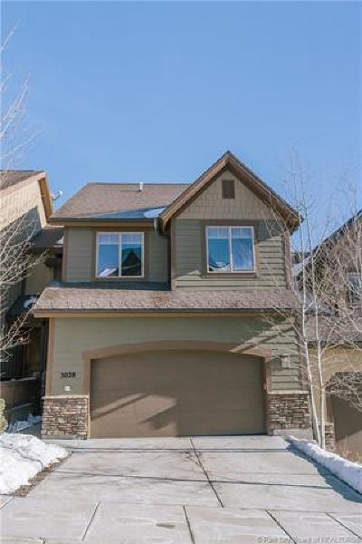 Park City Condo/Townhouse For Sale: 3028 Canyon Link Drive
