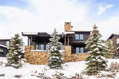 Park City Single Family Home For Sale: 8136 Western Sky