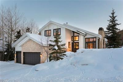 Park City Single Family Home For Sale: 2611 Aspen Springs Drive