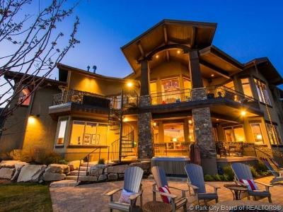 Park City Single Family Home For Sale: 9230 N Sand Trap Court