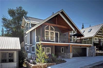 Park City UT Single Family Home For Sale: $2,275,000