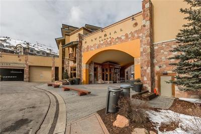 Park City Condo/Townhouse For Sale: 3720 N Sundial Court #C-415 A/