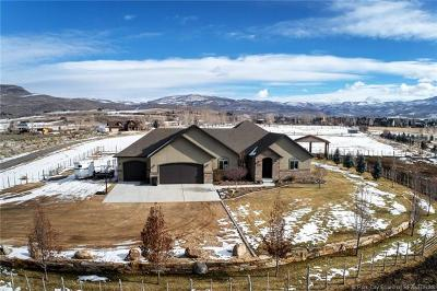Heber City Single Family Home For Sale: 1061 S 3600 East