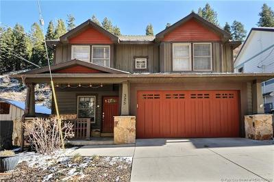 Park City UT Single Family Home For Sale: $2,000,000
