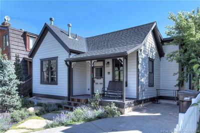 Single Family Home For Sale: 1280 Park Avenue #A