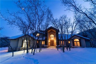 Park City UT Single Family Home For Sale: $2,599,900