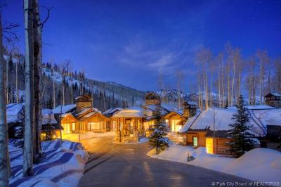 Park City Single Family Home For Sale: 174 White Pine Canyon