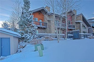 Park City Condo/Townhouse For Sale: 8171 Courtyard Loop #2