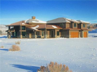 Park City Single Family Home For Sale: 2190 Saddlehorn Drive