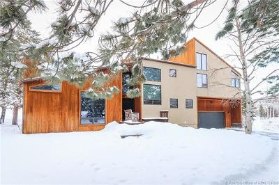 Park City Single Family Home For Sale: 1830 Lucky John Drive