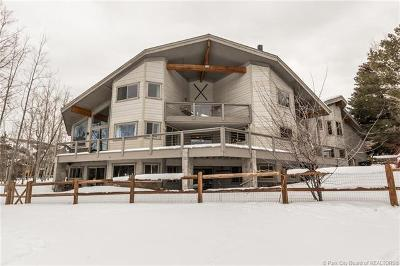 Park City Single Family Home Active - Time Clause: 12 Thaynes Canyon Drive