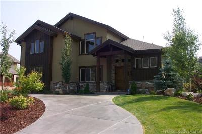 Park City Single Family Home For Sale: 3047 West Creek Road