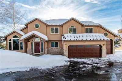 Park City Single Family Home For Sale: 9187 Upper Lando Lane