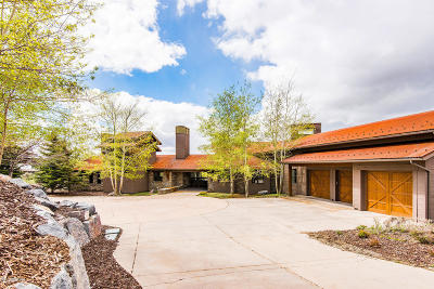 Park City Single Family Home For Sale: 9065 N Promontory Ranch Road