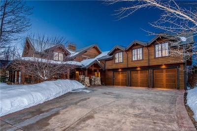 Park City UT Single Family Home For Sale: $2,950,000