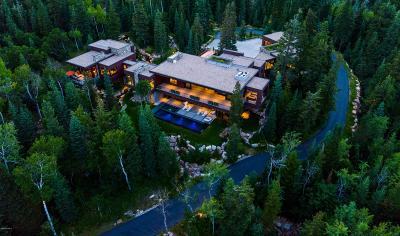 Park City UT Single Family Home For Sale: $16,450,000