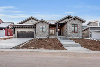 Park City Single Family Home For Sale: 2597 Ledger Way