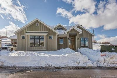 Park City Single Family Home For Sale: 2499 Ledger Way