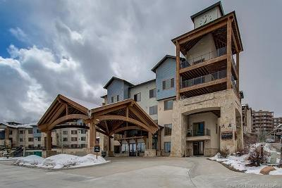 Park City Condo/Townhouse For Sale: 2653 W Canyons Resort Drive #323