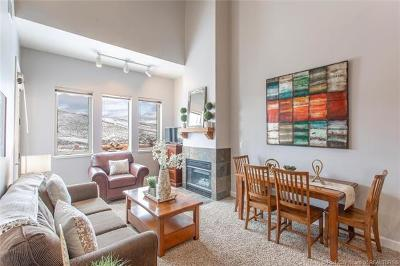 Park City Condo/Townhouse For Sale: 6641 N 2200 West #D306