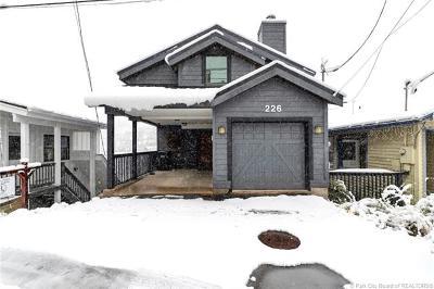 Park City Single Family Home For Sale: 226 E Marsac Avenue