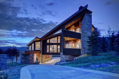Park City Single Family Home For Sale: 7871 N West Hills Trail