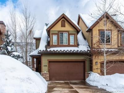 Park City Condo/Townhouse For Sale: 3136 W Lower Saddleback Road