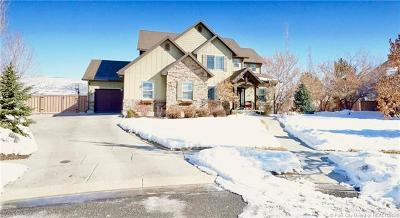 Heber City Single Family Home For Sale: 787 Shadow Rock Court