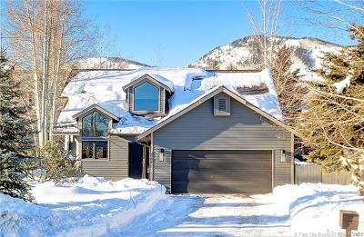 Park City Single Family Home For Sale: 2867 Lucky John Drive
