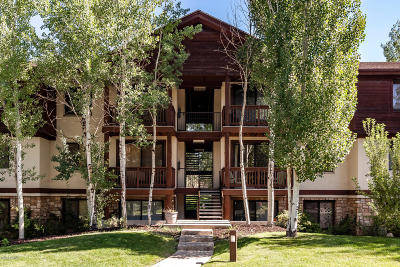 Park City Single Family Home For Sale: 1600 W Pinebrook Boulevard #F5