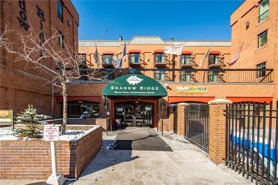 Park City Condo/Townhouse For Sale: 50 Shadow Ridge Road #4307