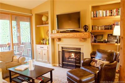 Park City Condo/Townhouse For Sale: 1600 Pinebrook Blvd #E8