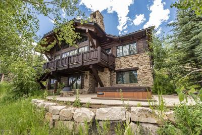 Park City Single Family Home For Sale: 8714 Empire Club Drive