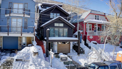 Park City Single Family Home For Sale: 1009 Empire