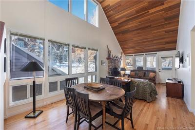 Park City Condo/Townhouse For Sale: 1700 Three Kings Drive #161