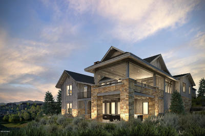 Park City Single Family Home For Sale: 9816 N Hidden Hill Loop