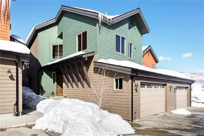 Park City Condo/Townhouse For Sale: 8117 Courtyard Loop #4