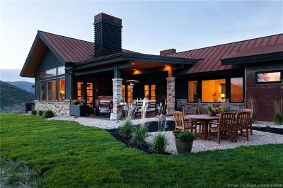 Park City Single Family Home For Sale: 1590 Canyon Gate Road