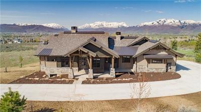 Tuhaye, Red Ledges Single Family Home For Sale: 1225 N Oquirrh Mountain Dr. (Lot 71)