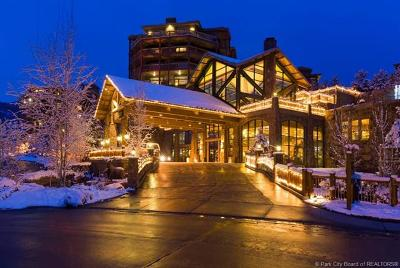 Park City Condo/Townhouse For Sale: 3000 Canyons Resort Drive #3814
