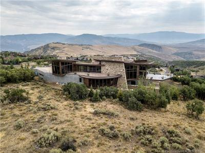 Park City Single Family Home For Sale: 8544 N Promontory Ranch Road