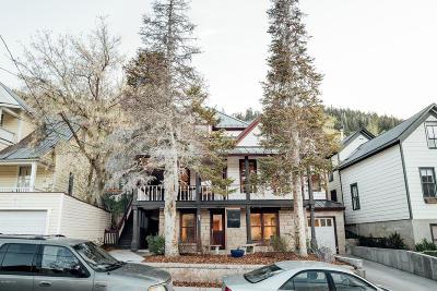 Park City Single Family Home For Sale: 455 Park Avenue