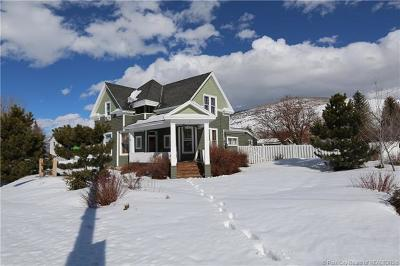 Kamas And Marion Area Single Family Home For Sale: 210 N Main Street